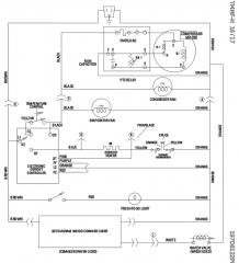 GE GTH18EBTZRWW Refrigerator Schematic
