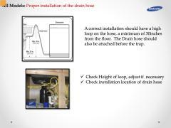 Samsung Dishwasher Drain Hose Installation