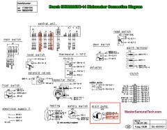 Bosch SHU8806UC-14 Dishwasher Connection Diagram 58300000020479