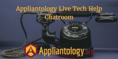 Appliantology Live Tech Help Chatroom