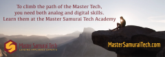 Climb the path of the Master Samurai Tech