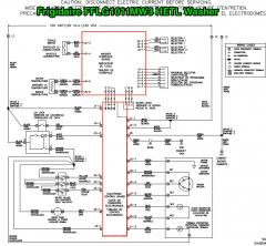 Frigidaire FFLG1011MW3 HETL Washer Schematic