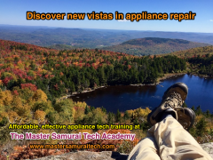 New vistas in appliance repair training