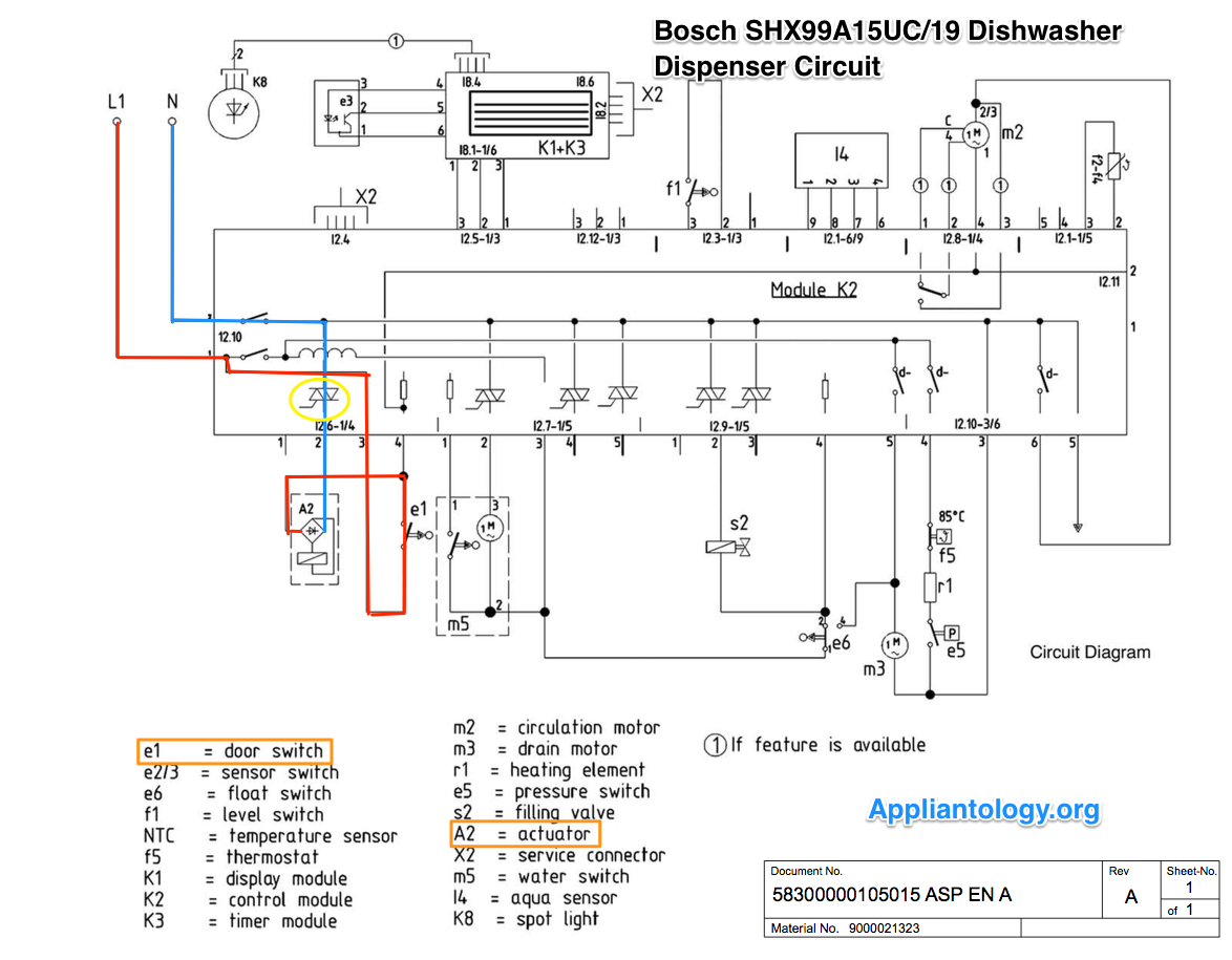 Dishwasher Repair - Appliantology org - A Master Samurai Tech