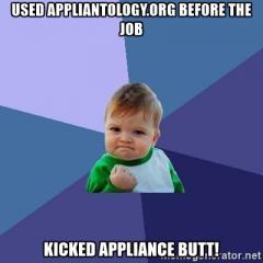 Kick Appliance Butt with Appliantology.org
