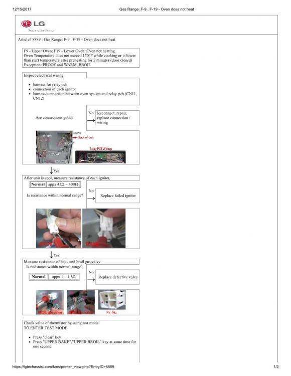 Gas Range_ F-9 , F-19 - Oven does not heat 1.jpg
