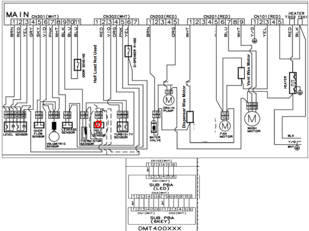 Identifying Power Supplies on a Samsung Control Board