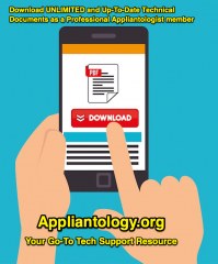 Download Service Manuals and Tech Sheets at Appliantology.org