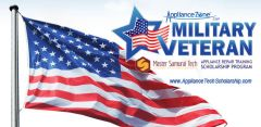 Appliance Tech Training Scholarship Program for Military Veterans