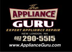 The Appliance Guru: Fast, Expert Appliance Repair Service in the Kearsarge-Lake Sunapee Region of New Hampshire