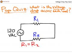 Voltage Drop Pop Quiz