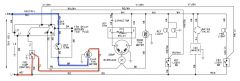 Amana BBI20TPSW Refrigerator Schematic Annotated