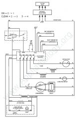 GE Monogram ZDIS150WSSC Refrigerator Wiring Diagram
