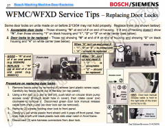 Bosch Washing Machine Door Lock Esoterica