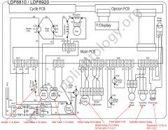 LG LDF6810 LDF6920 Series Dishwasher Wiring Diagram