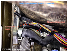 LG Dishwasher Drain Hose Leak