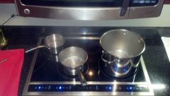 Electrolux Induction Cooktop Assembled And Functioning