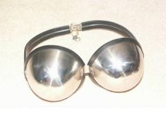 Stainless Steel Locking Bra