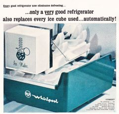 Whirlpool Ice maker Advertisement