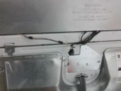 Figure out how to put the wires into the top before you try anything.